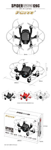 Mini FPV Dron  With Camera HD 2MP Switchable Controller