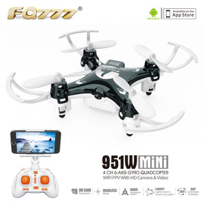 WIFI Mini Pocket Drone with 30W Camera Smartphone Holder