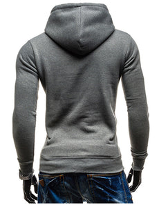 Chest Letters Printed Long-sleeved Hoodies for Men