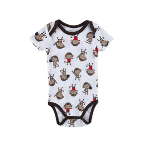 Little Monkey Cotton Onesies for Baby