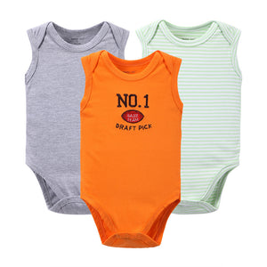 Sleeveless 3-pack Baby's Summer Rompers