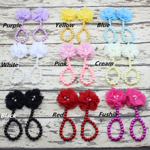 Baby Pearl Shoes Wholesale European And American Diy Baby Shoes To Make A Cute Baby Foot Chain Jewelry Wholesale