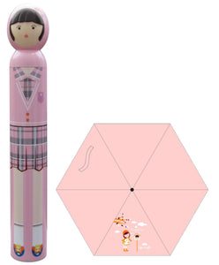 Princess Pattern Handle Bottle Design Umbrella/Parasol