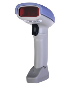 Portable Handheld Wireless Barcode Reader Cordless Bar Code Scanner with Memory Inventory for POS System