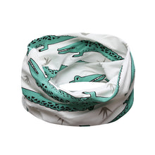 New baby beautiful scarf animal print scarf cotton scarf children winter collar boys girls cartoon scarf