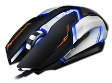 All New iMICE V6 6D Adjustable 2400DPI Ergonomic Usb Wired Optical Gaming Mouse Gamer Mice 4 Color LED Backlit For Laptop PC