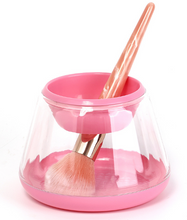 Makeup Brush Cleaner & Dryer Upgraded Portable Electronic Automatic , Cleans & Dries Makeup Brushes in Seconds
