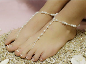American Fashion South Korean Version Of The New Imitation Pearl Chain Of The European And American Women