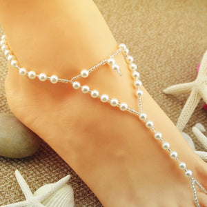 Direct Selling Fashion Heart Of The Heart Handmade Pearl Chain