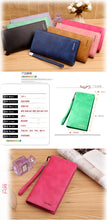 Matte Leather Ultra-Thin Retro Wallet for Ladies