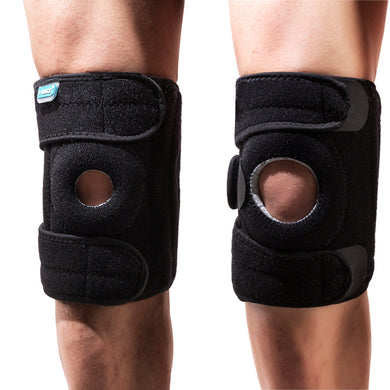 Unisex Elastic Knee Support Brace Kneepad Sport Running Cycling Safety Guard Kneepad Adjustable Comfortable Design