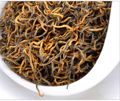 125g New Top Wuyi Black Tea Jin Jun Mei Eyebrow Autumn Tea Kim Chun Mei Jinjunmei