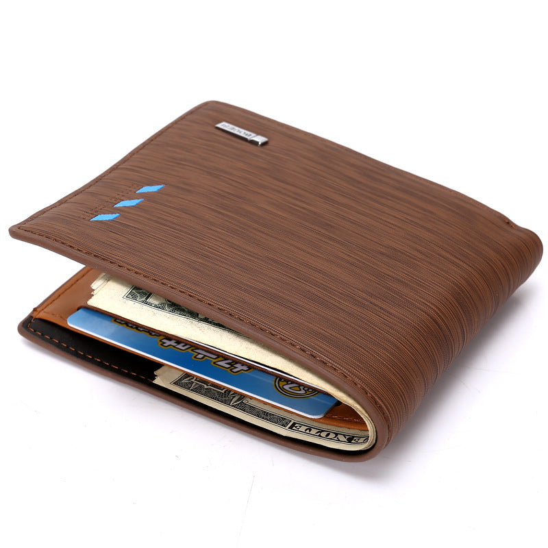 Men Purse Leather Male Wallets Card Coin Wallet