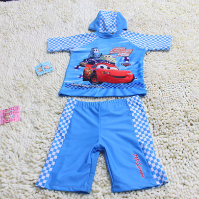 Summer Baby Swimwear Children Boys Swimming Suit 3pcs Kids Swimsuit Toddlers Clothes Boys Bathing Suit