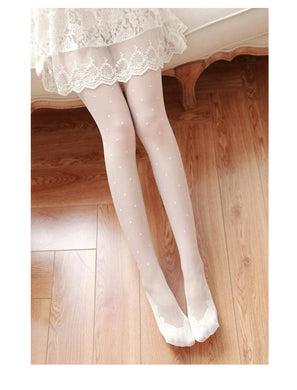 lace stockings thin pantyhose pants
