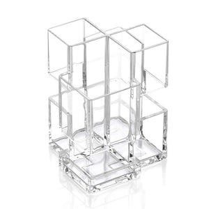 Acrylic Novel Makeup Storage for Brushes Cosmetic Organizer