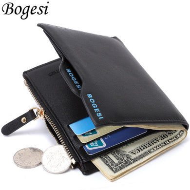 PU Leather Men Wallet Fashion Coin Pocket Men Wallet