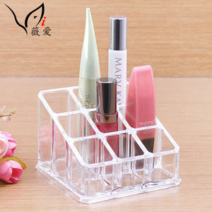9 Space Lipsticks Storage Acrylic Makeup Organizer (1 pcs)