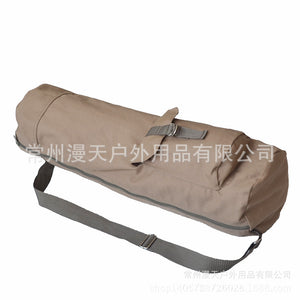 All Over The Sky Outdoor Factory Direct Sales Light Polyester Cotton Canvas Multi-Functional Pocket Yoga Bag