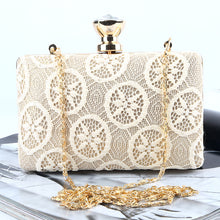 Handmade Lace Chain Bag Ladies Evening Cocktail Clutch