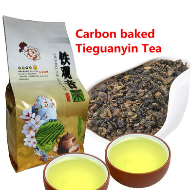 igh Quality Chinese Tea Fresh Natural Carbon Specaily TiKuanYin Oolong Tea High Cost-effective Tea 50g