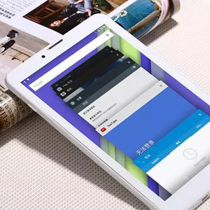 Smart 7-Inch 3-Netted Four-Core Tablet Phone Call IPS  GPS Telecom 4G Network