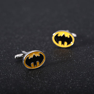 Dark Knight Batman Signal Designed Cuff-links