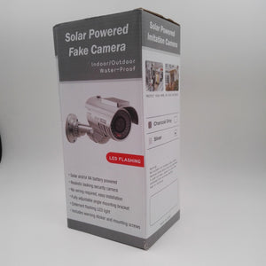 Solar Simulation Camera Fake Monitoring And Lighting For Safety Protection