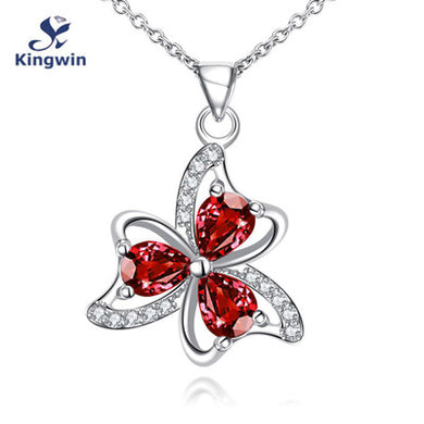 Ruby Multi-color Pendant Necklace Pendant for Woman