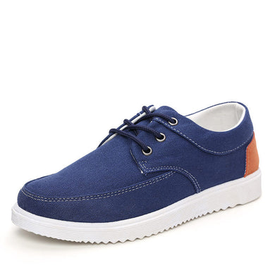 Spring Canvas Shoes Men's Casual Shoes Han Version Cloth Shoes Men's Shoes Sports Shoes