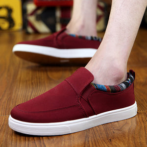 Autumn New Style Canvas Shoes Casual Han Edition Cloth Shoe Sport Board Shoes Breathable Lazy Man A Pair Of Men's Shoes