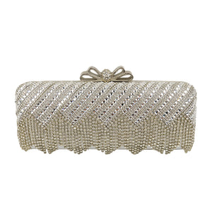 Women Glass Diamond Design Dinner Bag Ladies' Evening Party Bags