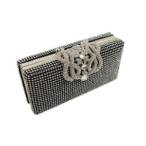 Chinese Knot Rhinestone Clutch Ladies Evening Bags