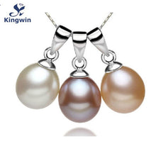925 Sterling Silver Freshwater Cultured Pearl Pendant Dress Decoration (pendant only)