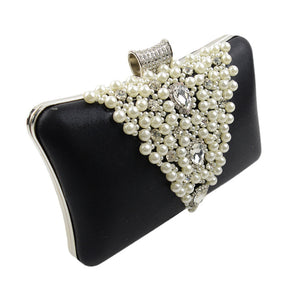 V-shaped Rhinestone Evening Bags Ladies Handbag Evening Bags
