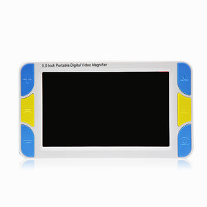 "Low Vision 5"" LCD Handheld Video Magnifier Reading magnifier Aid, Digital Video Magnifier electronic microscope"