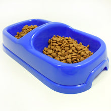 Double Bowl Medium Bowl Of Pet Bowl Plastic Dog Bowl For Pet
