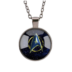 Science Fiction Film Goods Pattern Pendant Necklace for Men