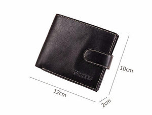 Men Leather Wallet Card Holder