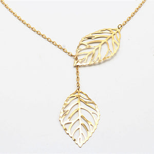 Leaf Two Leaf Female Deserve To Act The Role Of Tassel Necklace To Sell Directly From Xuan Manufacturer Wholesale
