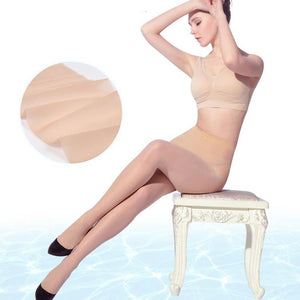 Ice crystal stockings ultra-thin invisible stockings for female
