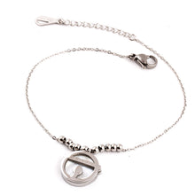 Adjustable Thin Chains Bracelet with Cute Pendant for Women