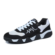 Camouflage Pattern Lace Up Vibration Aborption Running Shoes