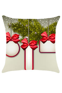 Christmas Presents Pattern Decorative Throw Pillow Case