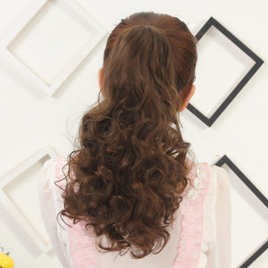 Heat Resistant Fiber Pony Tail Clip-in Hair Extension