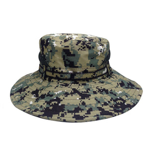 Pixel Camouflage Outdoor Climbing Fishing Hat