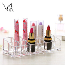 Acrylic Combination Organizer for Lip Gloss Lipstick 12 Space Storage Display Case