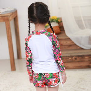 Tankinis Two Piece Children Swimwear Girls Bikini Child Bikini For Children 2018 Swimwear Girls Baby Baby Surfing