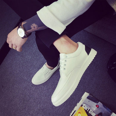 Small White Shoe Han Version Sports Casual Male Shoe Breathable Spring Tide Student Qiu Dong Leisure Shoes