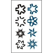 Body Art Stickers Waterproof Temporary Tattoos Campus Fashion (1 sheet)